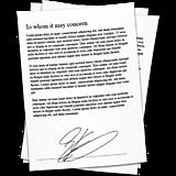 Документы с подписью